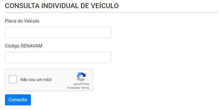 Consulta IPVA RS