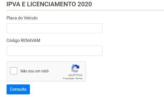 Consulta IPVA Atrasado RS